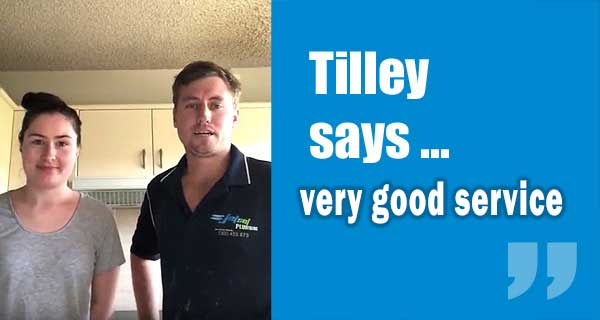 Tilley Customer Review from Tarragindi